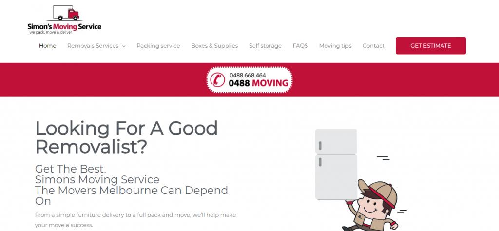 Simon's Moving Service