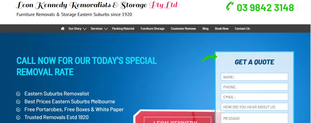 Kennedy removalists eastern suburbs