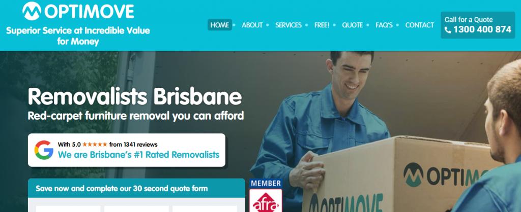 Optimove Removalists Brisbane