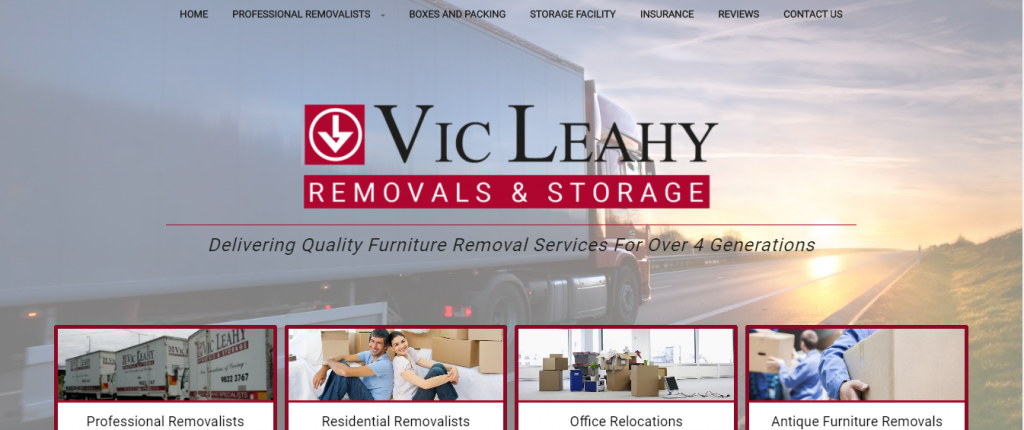 Vic Leahy removalists eastern suburbs